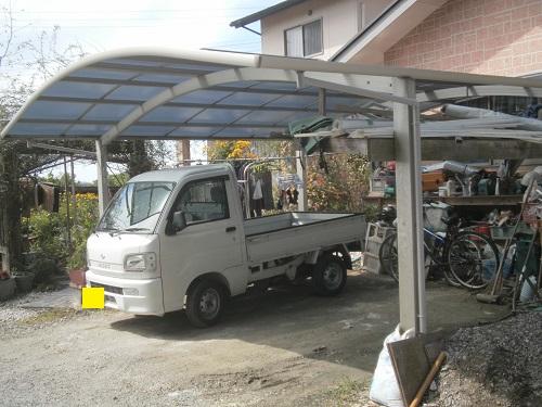 旧レイナポート屋根補修施工イメージ